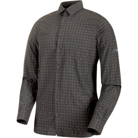 Mammut Lenni Longsleeve Shirt Men grey
